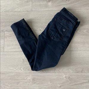 Rag & Bone zipper Capri jeans